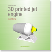 book cover build your own 3d printed jet engine